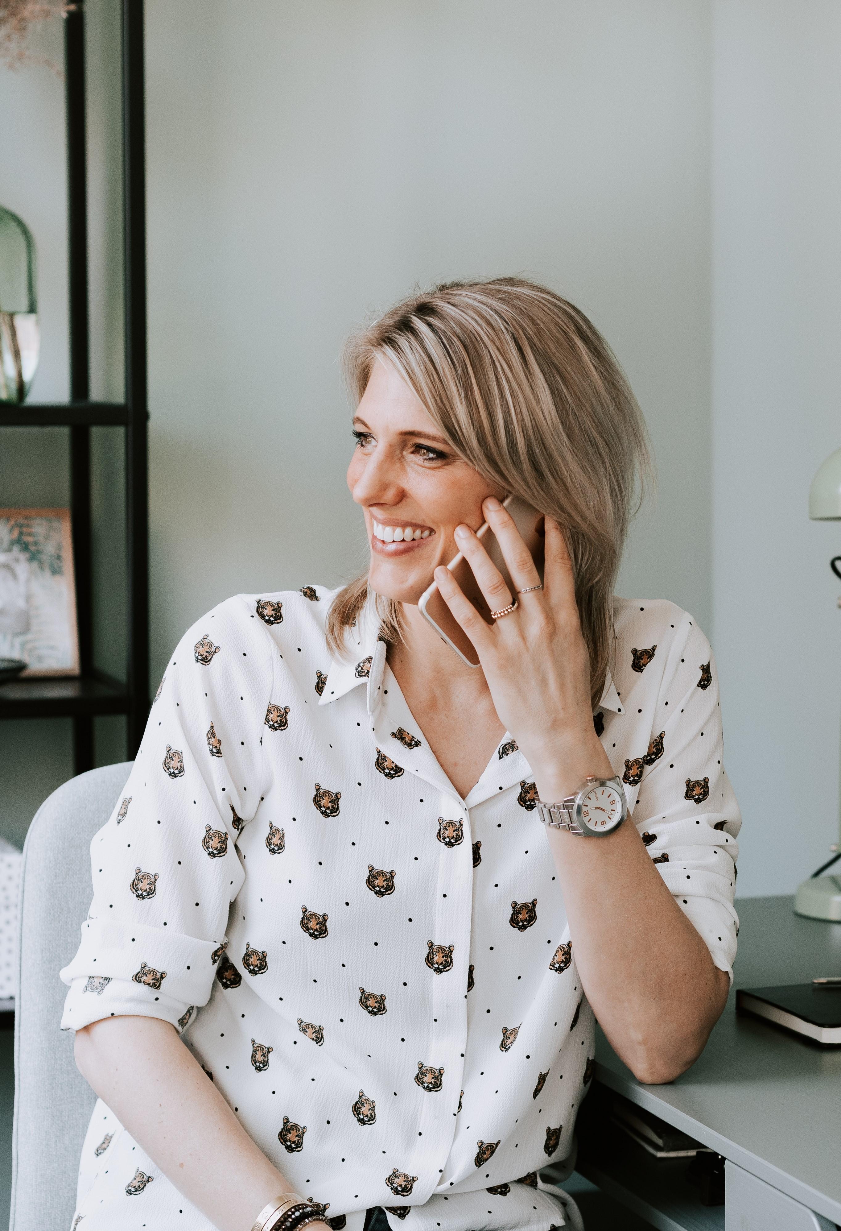 Focus telefoongesprek nathalie wethmar- coach voor ambitieuze vrouwen en ondernemende vrouwen